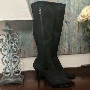 GUESS Knee High Heeled Boots